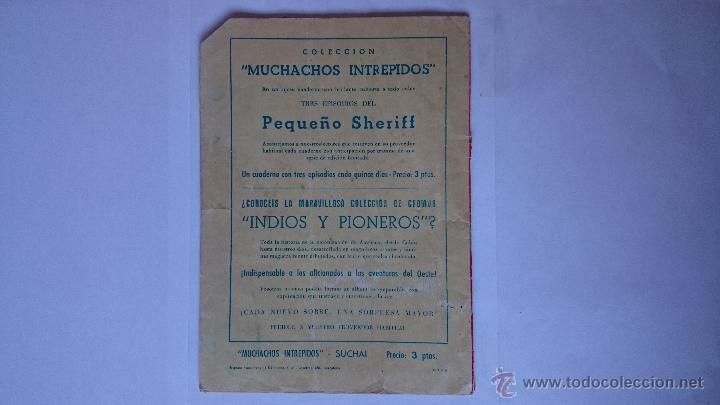 Tebeos: ANTIGUO COMIC SUCHAI , Nº7 , (3 EPISODIOS)-HISPANO AMERICANA . R-166 - Foto 2 - 51685657