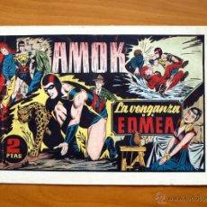 Tebeos: AMOK - Nº 2 LA VENGANZA DE EDMEA - EDITORIAL HISPANO AMERICANA 1942. Lote 51716911