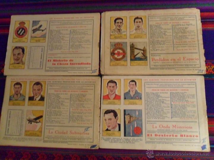Tebeos: JUAN CENTELLA NºS 1 AL 44 ORIGINALES Y SUELTOS. HISPANO AMERICANA 1940. 0,50 PTS. MUY DIFÍCILES!!!!! - Foto 6 - 47696086