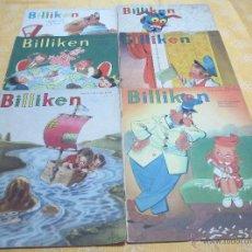 Tebeos: LOTE DE 6 REVISTAS BILLIKEN. REVISTA INFANTIL DE EDITORIAL ATLANTIDA, ARGENTINA. Lote 51926396