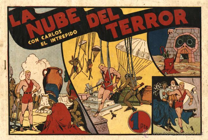 ARCHIVO (57): CARLOS EL INTRÉPIDO Nº 11 (HISPANO AMERIVANA, 1942) (Tebeos y Comics - Hispano Americana - Carlos el Intrépido)