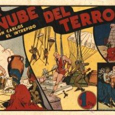 Tebeos: ARCHIVO (57): CARLOS EL INTRÉPIDO Nº 11 (HISPANO AMERIVANA, 1942). Lote 52151026