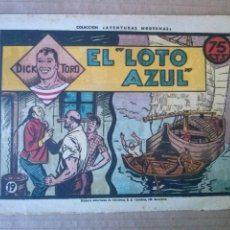 Tebeos: DICK TORO Nº 19 -- 1946 - HISPANO AMERICANA -T. Lote 52314673