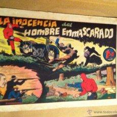 Tebeos: HOMBRE ENMASCARADO - LA INOCENCIA DEL HOMBRE ENMASCARADO. Lote 52425194