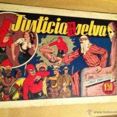 Tebeos: HOMBRE ENMASCARADO -JUSTICIA EN LA SELVA. Lote 52425523