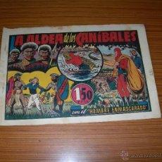 Tebeos - EL HOMBRE ENMASCARADO Nº LA ALDEA DE LOS CANIBALES DE HISPANO AMERICANA - 52540530