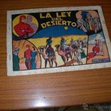 Tebeos: EL HOMBRE ENMASCARADO Nº LA LEY DEL DESIERTO DE HISPANO AMERICANA . Lote 52540560