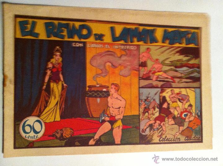 CARLOS EL INTRÉPIDO - EL REINO DE LAMAS MATA (Tebeos y Comics - Hispano Americana - Carlos el Intrépido)