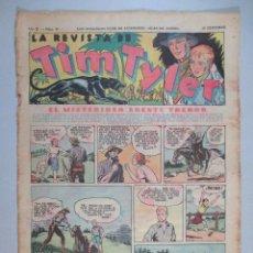 Tebeos: LA REVISTA DE TIM TYLER , AÑO II , Nº 41 , HISPANO AMERICANA , 1937. Lote 52573489