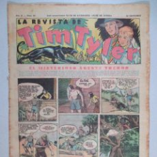 Tebeos: LA REVISTA DE TIM TYLER , AÑO II , Nº 42 , HISPANO AMERICANA , 1937. Lote 52573497