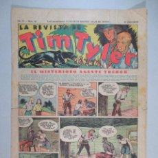 Tebeos: LA REVISTA DE TIM TYLER , AÑO II , Nº 43 , HISPANO AMERICANA , 1937. Lote 52573509