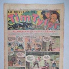 Tebeos: LA REVISTA DE TIM TYLER , AÑO II , Nº 43 , HISPANO AMERICANA , 1937. Lote 52573527