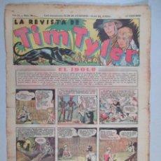 Tebeos: LA REVISTA DE TIM TYLER , AÑO II , Nº 44 , HISPANO AMERICANA , 1937. Lote 52573544