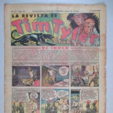 Tebeos: LA REVISTA DE TIM TYLER , AÑO II , Nº 45 , HISPANO AMERICANA , 1937. Lote 52573548