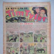 Tebeos: LA REVISTA DE TIM TYLER , AÑO II , Nº 46 , HISPANO AMERICANA , 1937. Lote 52573562