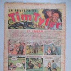 Tebeos: LA REVISTA DE TIM TYLER , AÑO II , Nº 48 , HISPANO AMERICANA , 1937. Lote 52573581