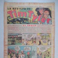 Tebeos: LA REVISTA DE TIM TYLER , AÑO II , Nº 49 , HISPANO AMERICANA , 1937. Lote 52573604