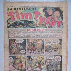 Tebeos: LA REVISTA DE TIM TYLER , AÑO II , Nº 50 , HISPANO AMERICANA , 1937. Lote 52573611
