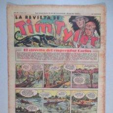 Tebeos: LA REVISTA DE TIM TYLER , AÑO II , Nº 54 , HISPANO AMERICANA , 1937. Lote 52573642