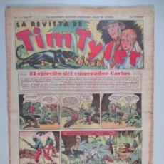 Tebeos: LA REVISTA DE TIM TYLER , AÑO II , Nº 57 , HISPANO AMERICANA , 1937. Lote 52573660