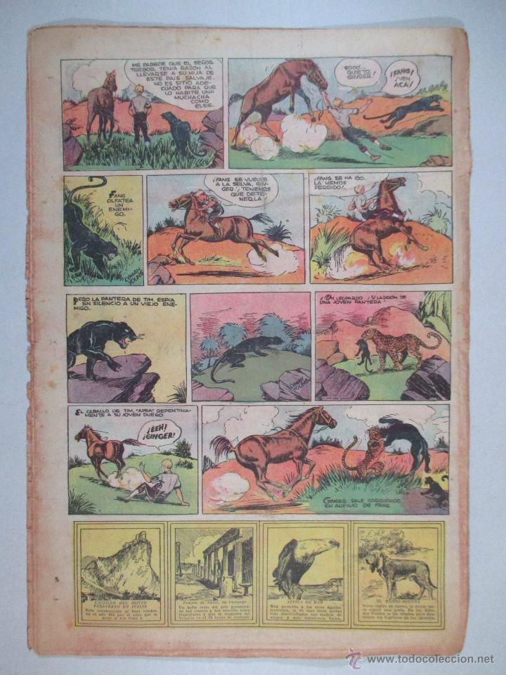 Tebeos: LA REVISTA DE TIM TYLER , AÑO II , Nº 63 , HISPANO AMERICANA , 1937 - Foto 3 - 52573768