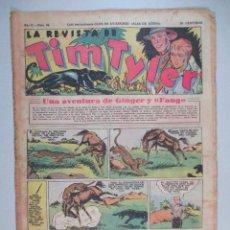 Tebeos: LA REVISTA DE TIM TYLER , AÑO II , Nº 64 , HISPANO AMERICANA , 1937. Lote 52573781