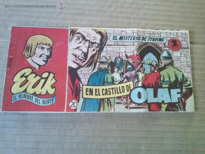 ERIK EL HOMBRE DEL NORTE Nº 20 - HISPANO AMERICANA , TA (Tebeos y Comics - Hispano Americana - Otros)