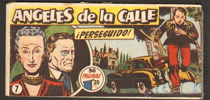 TEBEOS-COMICS CANDY - ANGELES DE LA CALLE - Nº 7 - HISPANOAMERICANA 1951 *BB99 (Tebeos y Comics - Hispano Americana - Otros)