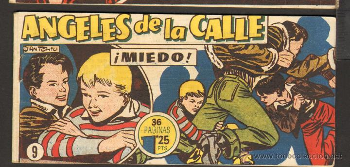 TEBEOS-COMICS CANDY - ANGELES DE LA CALLE - Nº 9 - HISPANOAMERICANA 1951 *BB99 (Tebeos y Comics - Hispano Americana - Otros)