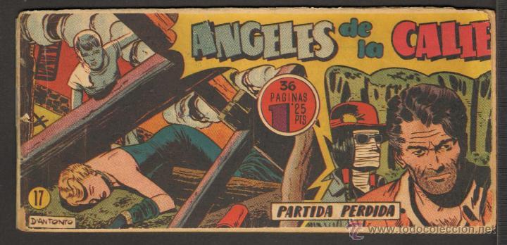 TEBEOS-COMICS CANDY - ANGELES DE LA CALLE - Nº 17 - HISPANOAMERICANA 1951 *BB99 (Tebeos y Comics - Hispano Americana - Otros)