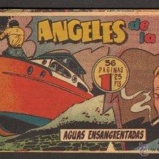 Tebeos: TEBEOS-COMICS CANDY - ANGELES DE LA CALLE - Nº 18 - HISPANOAMERICANA 1951 *AA99. Lote 48138032