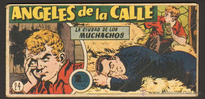 TEBEOS-COMICS CANDY - ANGELES DE LA CALLE - Nº 24 - HISPANOAMERICANA 1951 *AA99 (Tebeos y Comics - Hispano Americana - Otros)