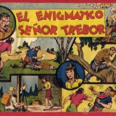 Tebeos: JORGE Y FERNANDO , EL ENIGMATICO SEÑOR TREBOR , 60 CENTIMOS , ORIGINAL , N. Lote 53139548