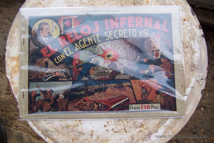 Tebeos: hispano americana. lote agente secreto x-9 formato grande los 14 que son - Foto 16 - 33145230