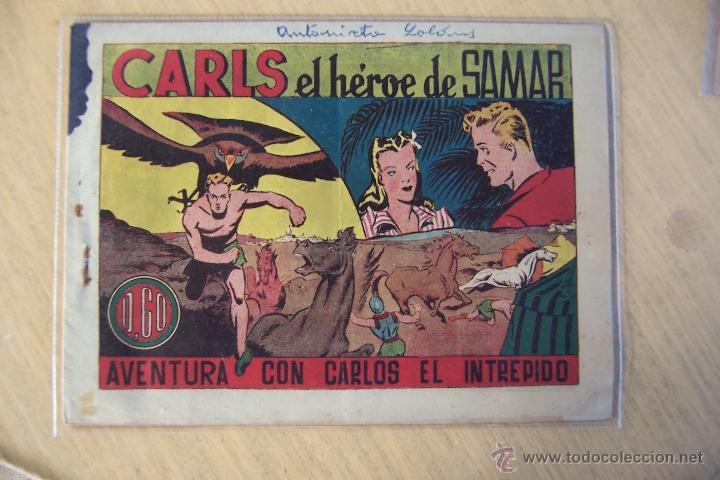 Tebeos: hispano americana, carlos el intrépido, 3ª época, nº 1-2 3 -4-5-8-9 son nº 28 al 32 mas 35-36 la c. - Foto 2 - 53760487