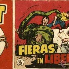 Tebeos: ARCHIVO (424): NAT EL GRUMETE Nº 35 (HISPANO AMERICANA, 1951). Lote 54017207