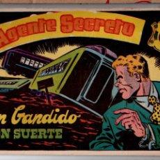 Tebeos: Nº 1 AGENTE SECRETO, CUADERNOS ORIGINALES 1957. HISPANO AMERICANA DE EDICIONES, S. A.. Lote 54243748