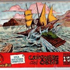 Tebeos: Nº 85 BUFALO BILL /TIM 7 TIROS, CUADERNOS ORIGINALES 1958. HISPANO AMERICANA DE EDICIONES, S. A.. Lote 54245187