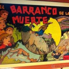 Tebeos: EL BARRANCO DE LA MUERTE. Lote 54261166