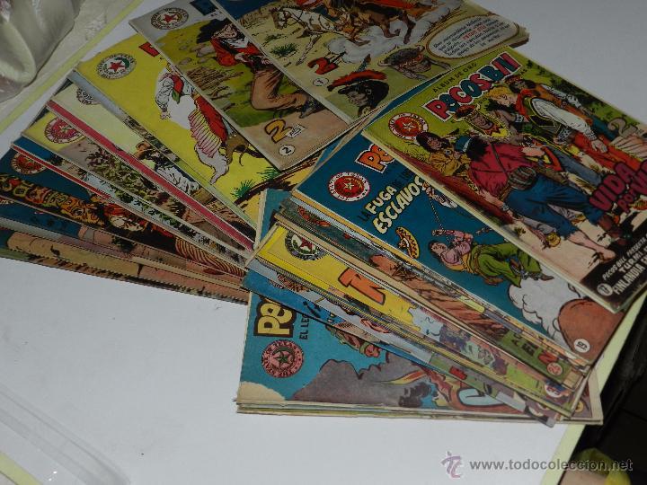 Tebeos: (M3) PECOS BILL - LOTE DE49 NUMEROS DEL NUM 1 AL NUM 51 ,FALTAN LOS NUMEROS 4 Y 34,HISPANO AMERICANA - Foto 2 - 54326409