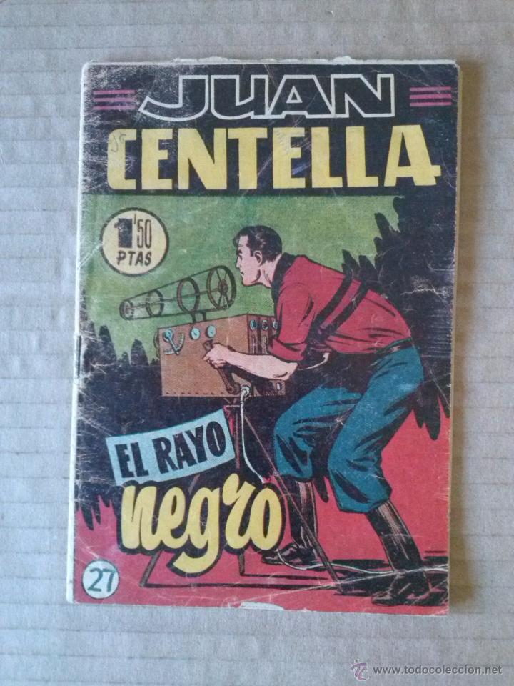 JUAN CENTELLA N º27 -HISPANO AMERICANA - COL. DE 28 - TA (Tebeos y Comics - Hispano Americana - Juan Centella)