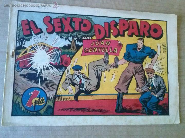 JUAN CENTELLA N º74 -HISPANO AMERICANA - COL. DE 135 - TA (Tebeos y Comics - Hispano Americana - Juan Centella)