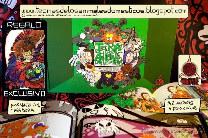 COMIC TEORÍAS DE LOS ANIMALES DOMESTICOS CON ILUSTRACION LIMITADA DE REGALO (Tebeos y Comics - Hispano Americana - Otros)