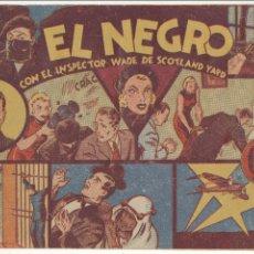 Tebeos: EL INSPECTOR WADE. HISPANO AMERICANA 1941. COMPLETA 7 EJEMPLARES.. Lote 54544152