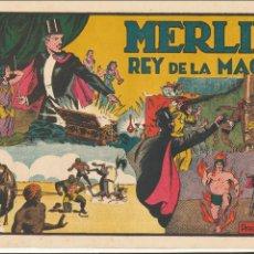 Tebeos: MERLIN Nº 6. MERLIN EL REY DE LA MAGIA. HISPANO AMERICANA 1942.. Lote 54553832