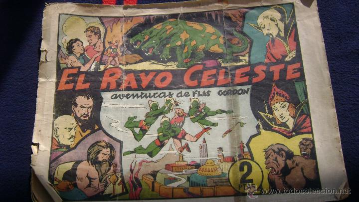 EL RAYO CELESTE FLASH GORDON HISPANO AMERICANA EL NUMERO UNO CJ 1 (Tebeos y Comics - Hispano Americana - Flash Gordon)