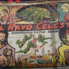 Tebeos: EL RAYO CELESTE FLASH GORDON HISPANO AMERICANA EL NUMERO UNO CJ 1. Lote 54595294