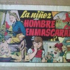 Tebeos: EL HOMBRE ENMASCARADO Nº 36, LA NIÑEZ DEL HOMBRE ENMASCARADO- HISP. AMERIC.,ORIGINAL. Lote 54615705
