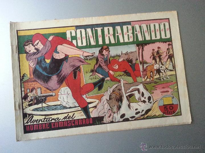 HOMBRE ENMASCARADO CONTRABANDO HISPANO AMERICANA ORIGINAL (Tebeos y Comics - Hispano Americana - Hombre Enmascarado)