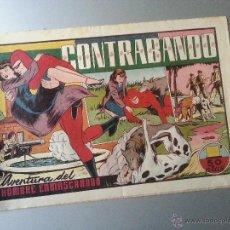 Tebeos - hombre enmascarado CONTRABANDO hispano americana original - 54673551